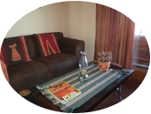 Relaxing lounge in the Karoo